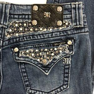 Miss Me Embellished Pocket JP6152S Skinny Jeans
